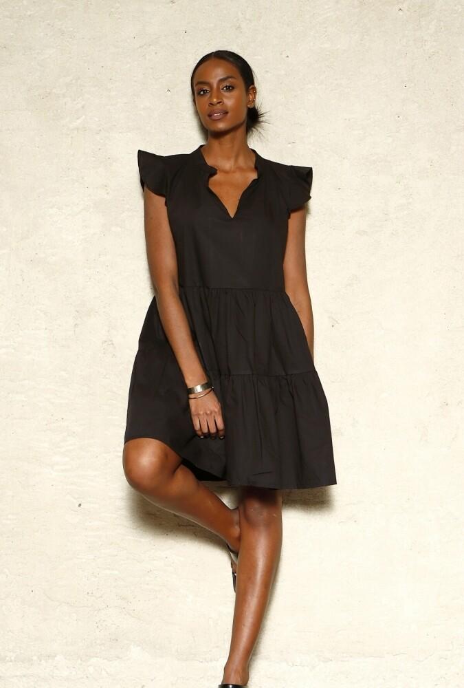 NEW Βαμβακερό Φόρεμα