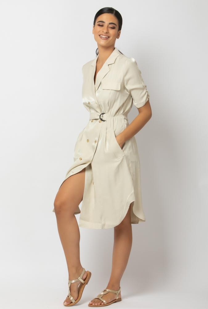MOLLY BRACKEN - Shirt dress κρουαζέ